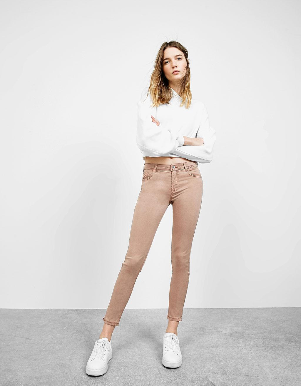 Pantaloni 5 tasche Tencel