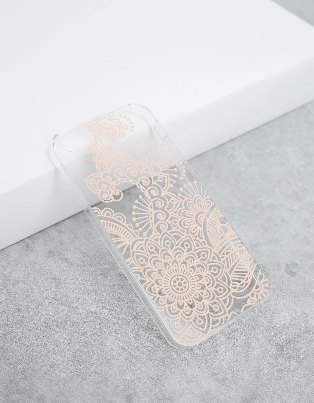 Carcasa tatuaje henna relieve iPhone 5/5s/5SE