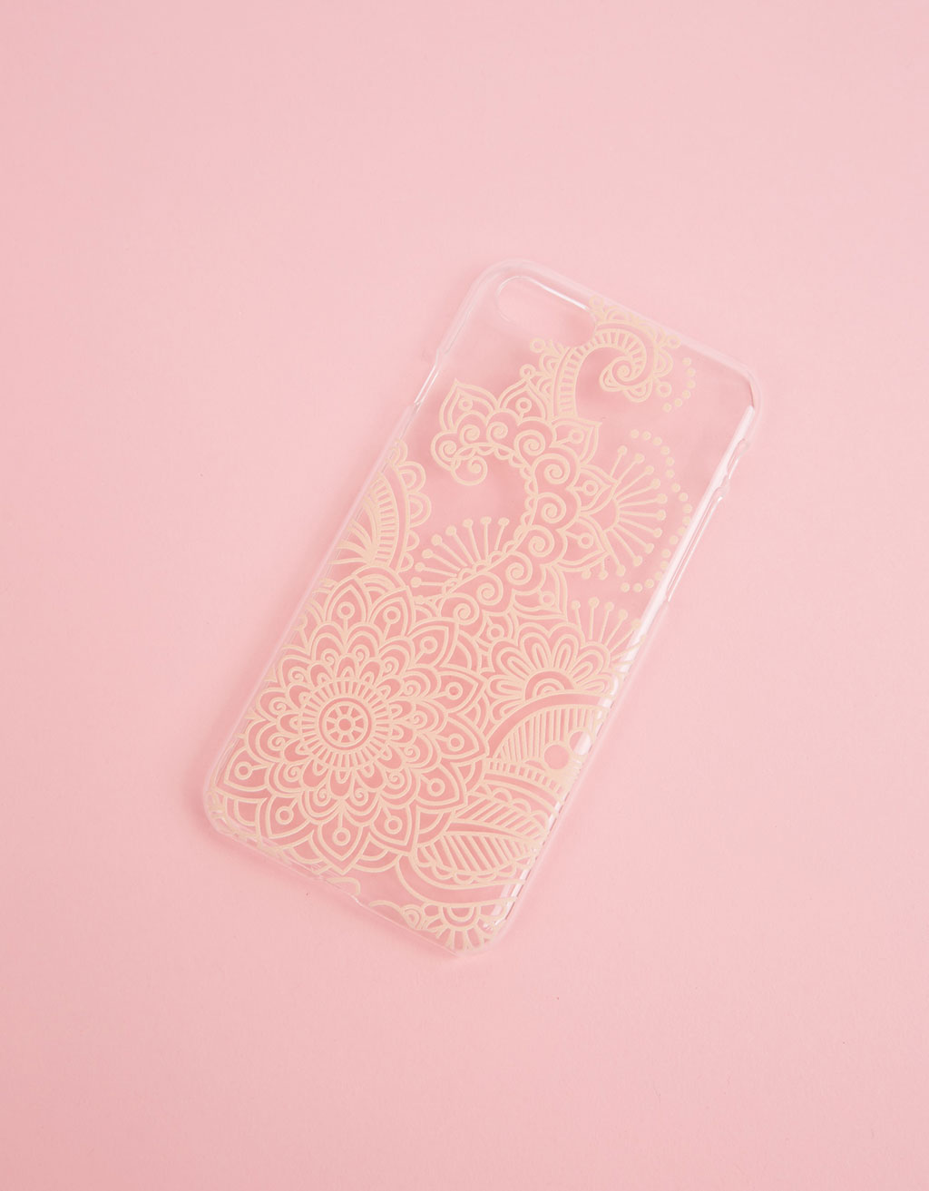 Coque tatouage henné relief iPhone 7