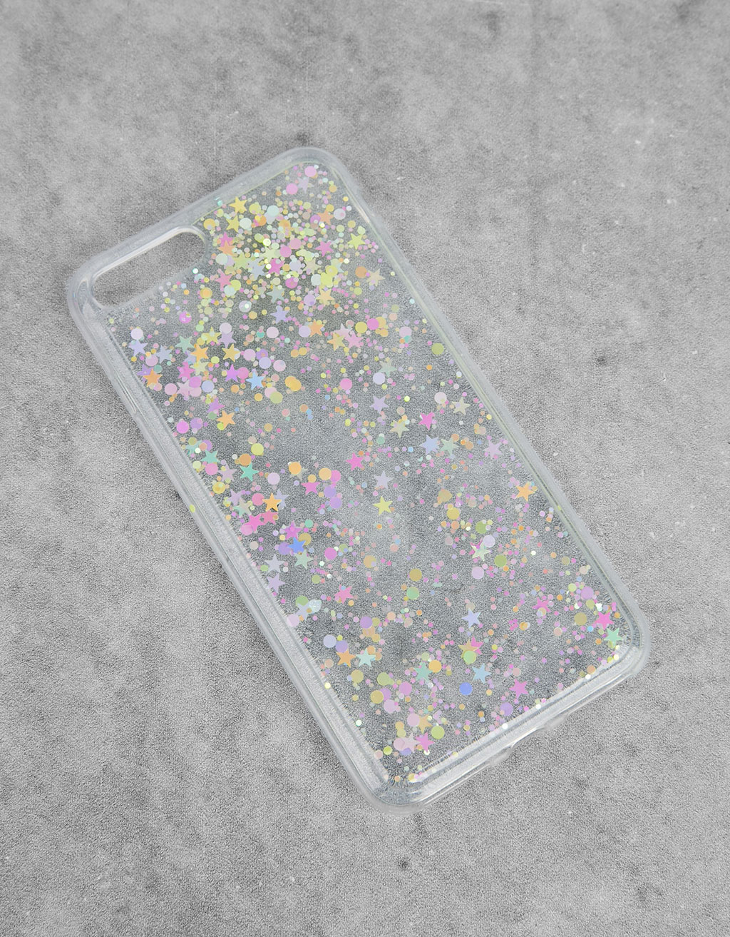 Transparent stars iPhone 7 plus case