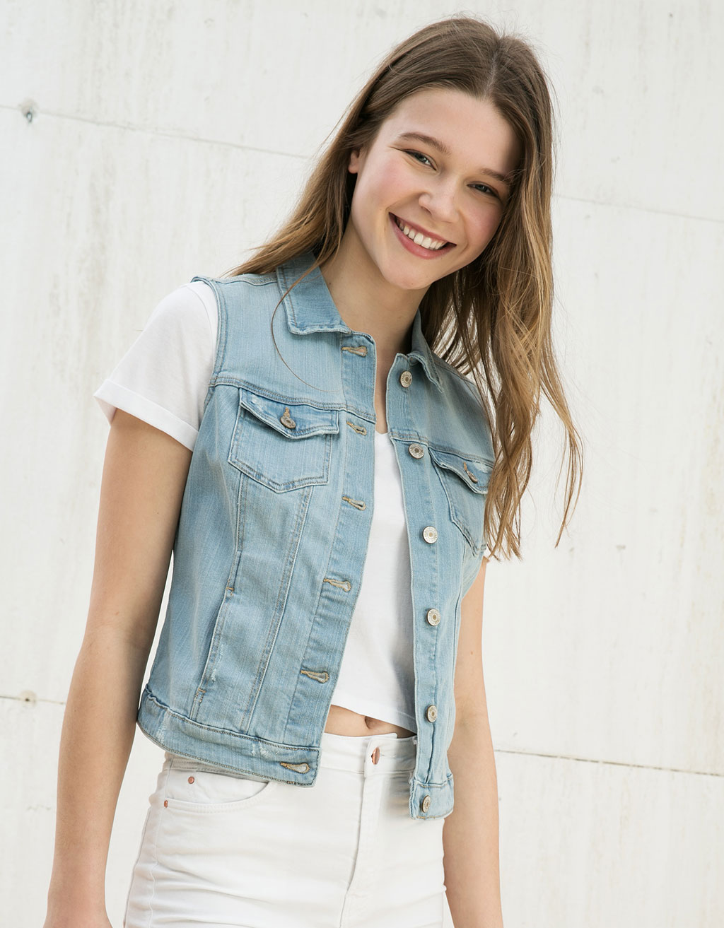 Super Price denim vest