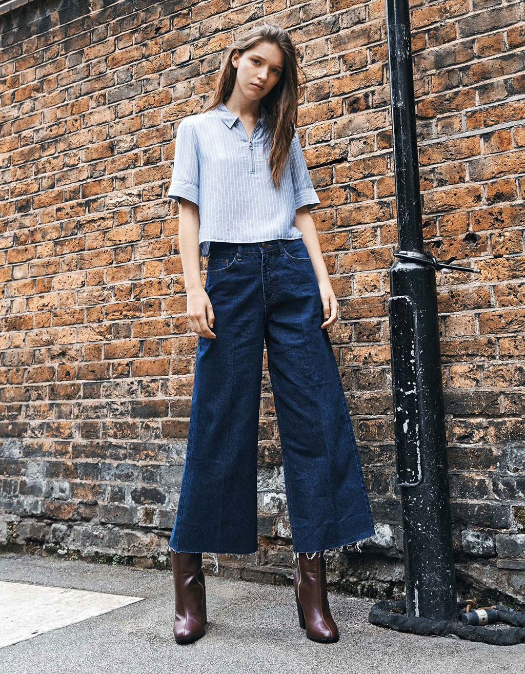 Jeans 'Wide Leg Ankle'