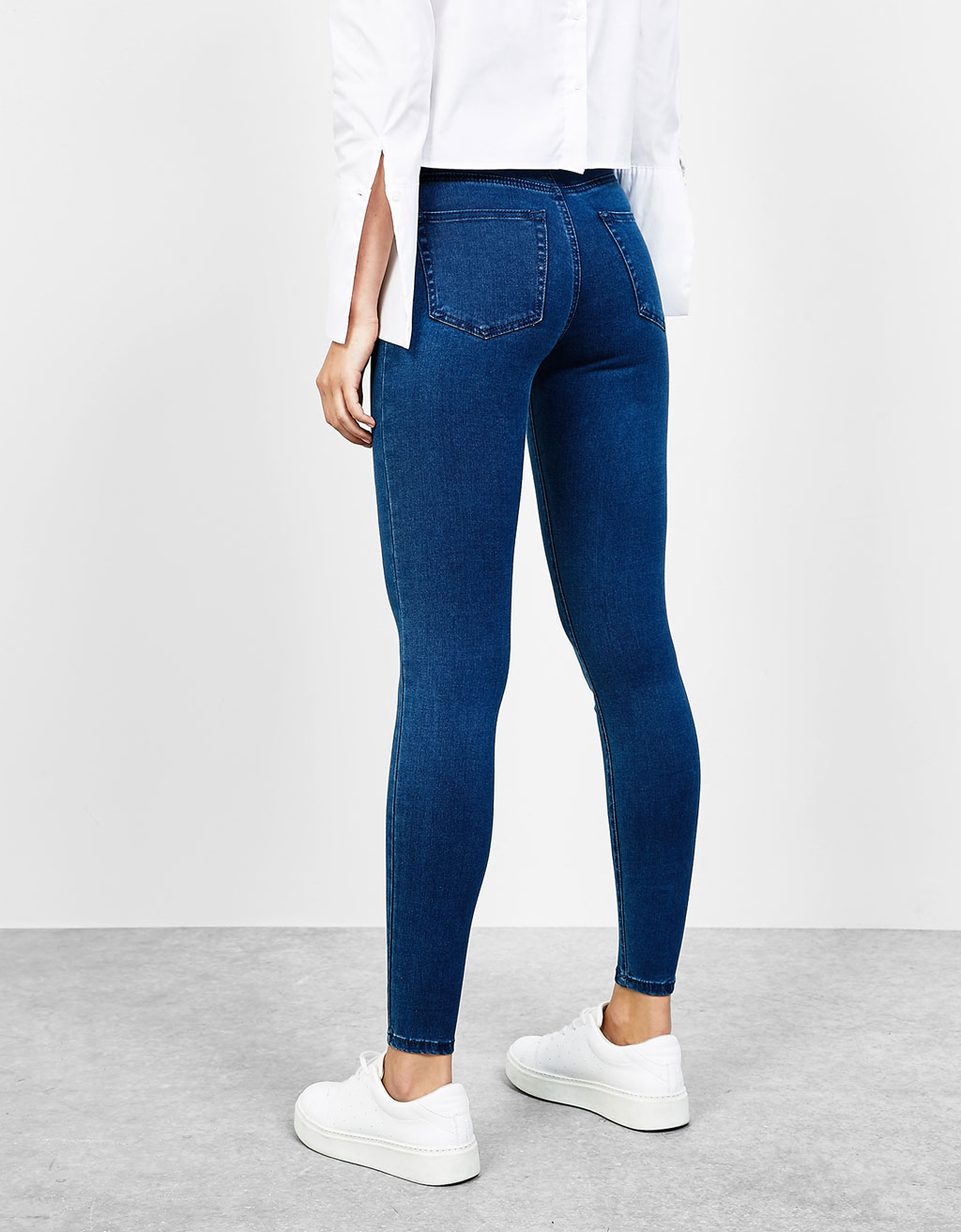 Super hight waist soft  jeggings