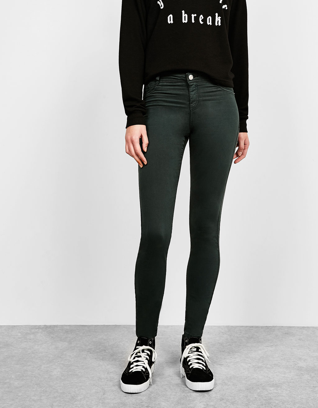 BSK five-pocket low-waist trousers