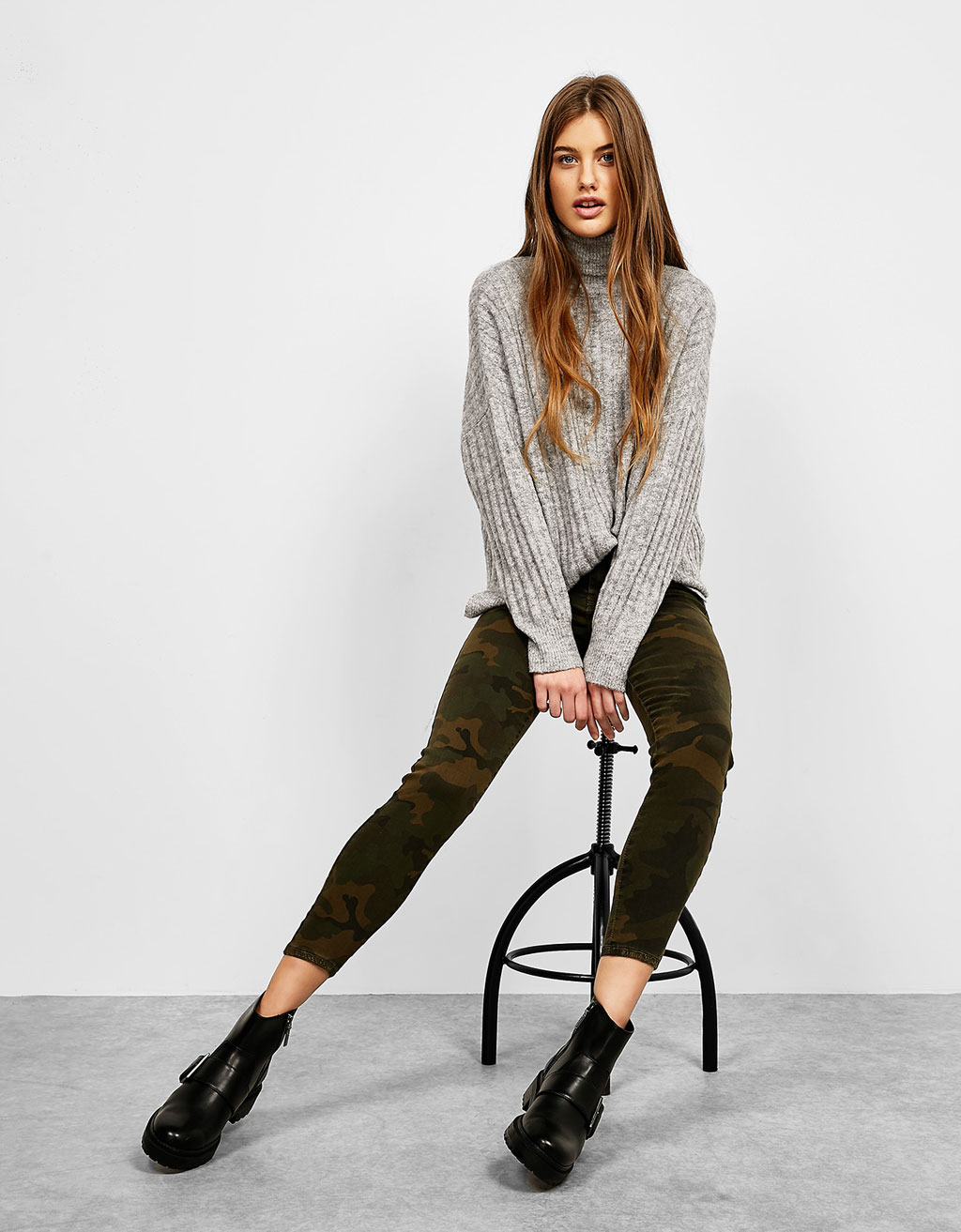 5-pocket camouflage trousers