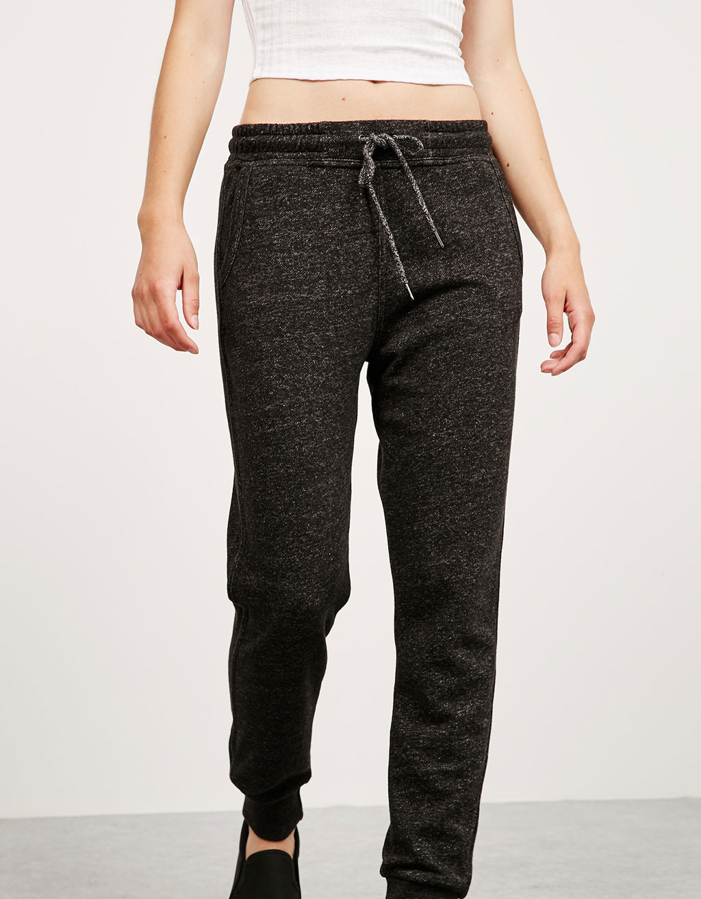 Colour jogger trousers