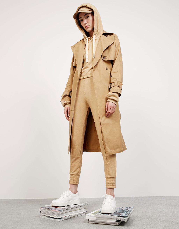 'Nervio' plush trousers