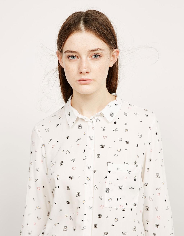 Camisa botons a l'esquena