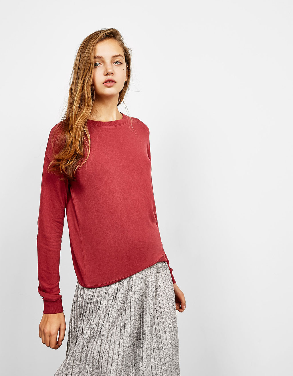 BSK plush elbow patch jumper
