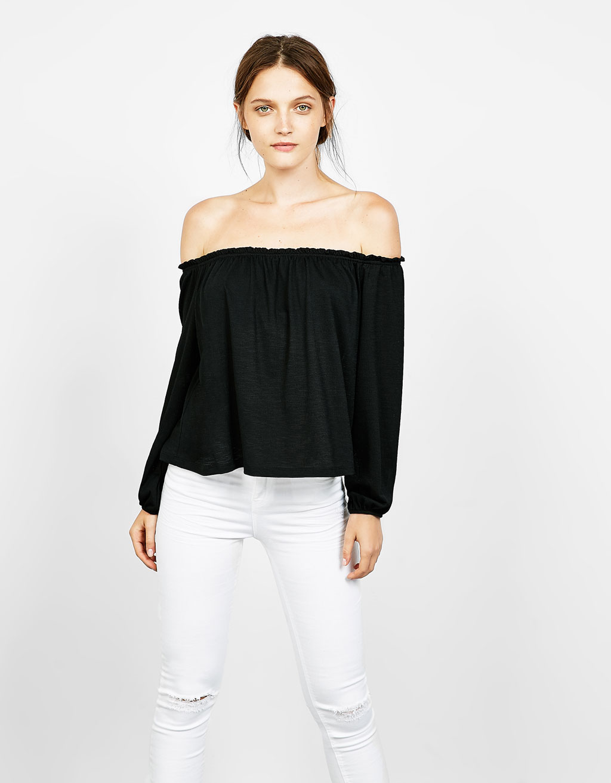 T-shirt coton manches Veracruz