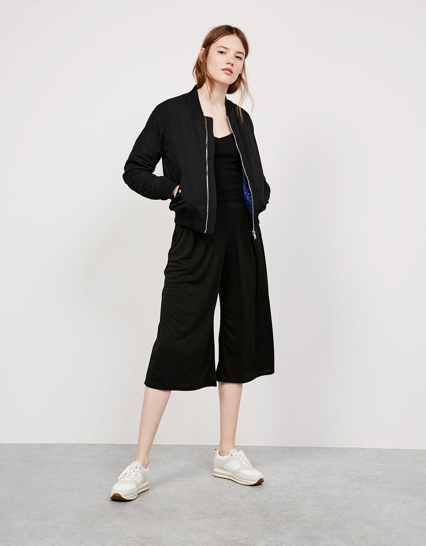 Flowy culotte trousers