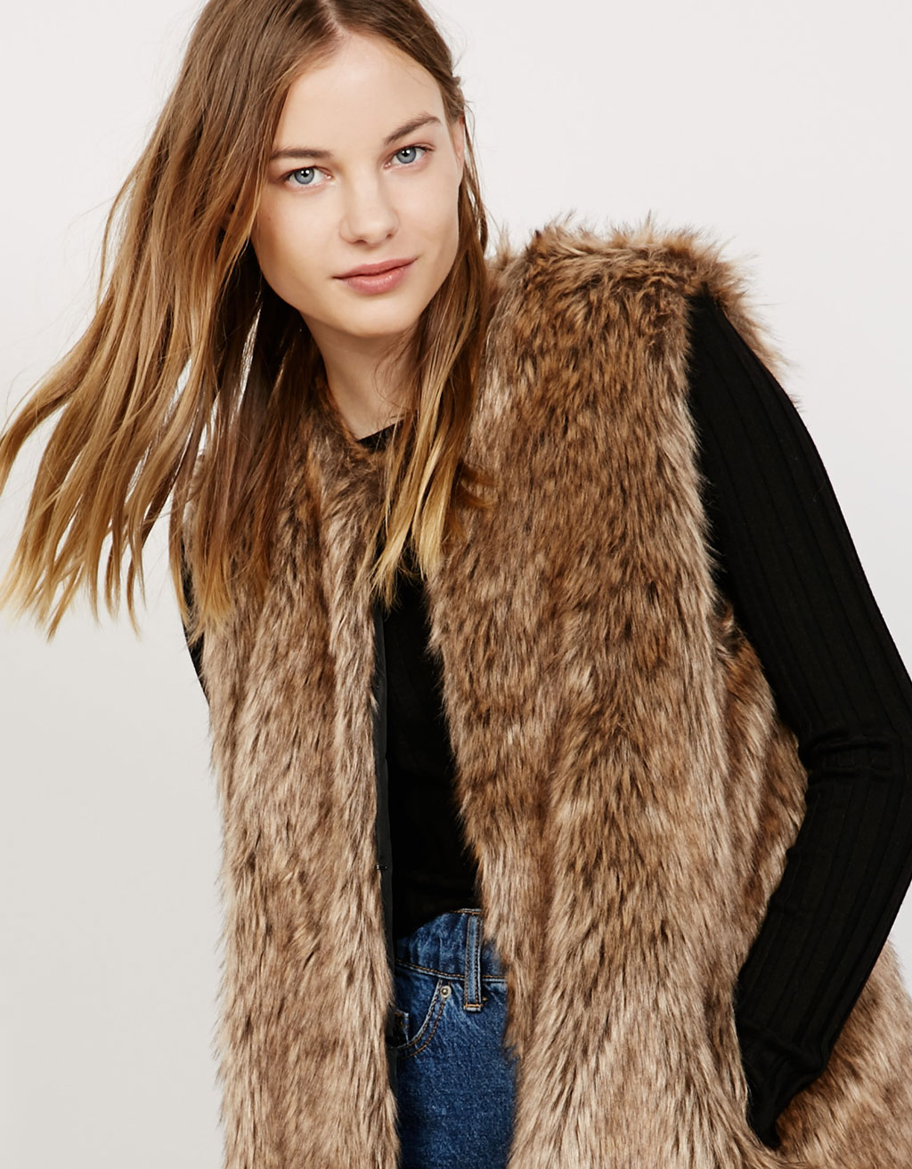 'SuperSoft' Fur vest