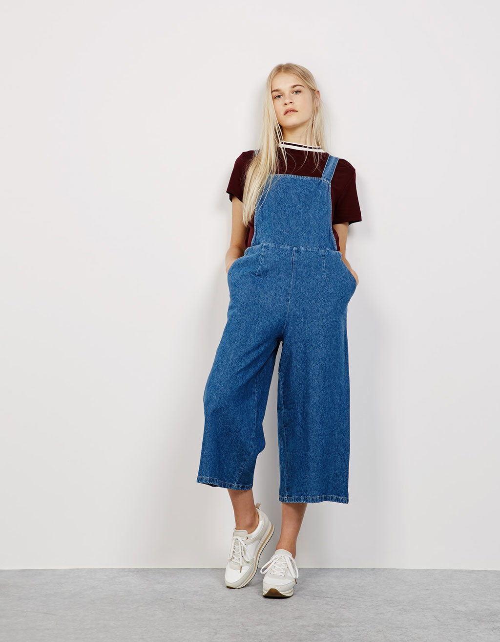 Peto culotte denim