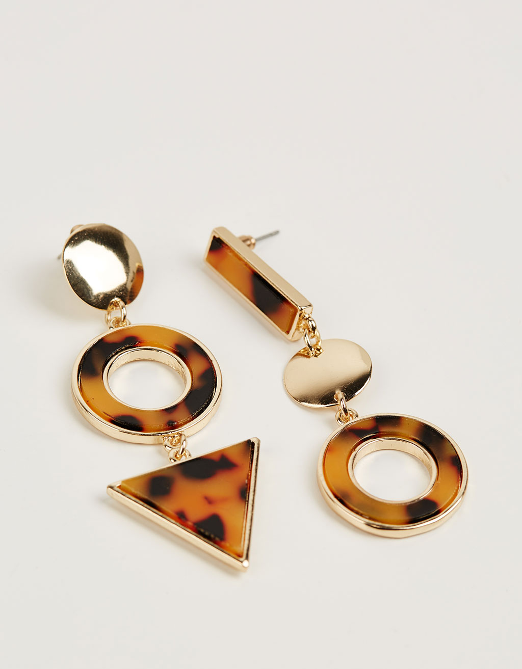 Mix&Match tortoise earrings