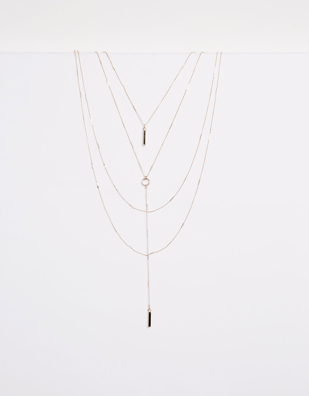 Fine chain necklace