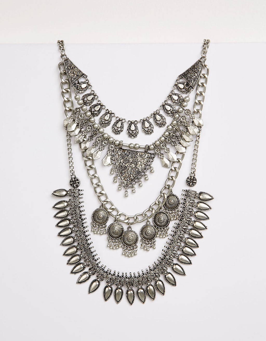 Bohemian maxi necklace