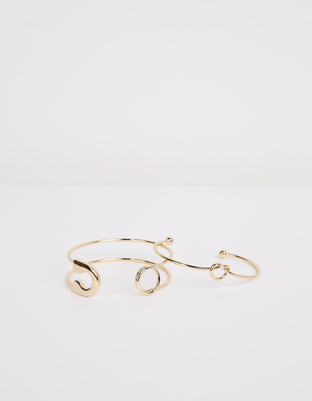 Pin bracelet set