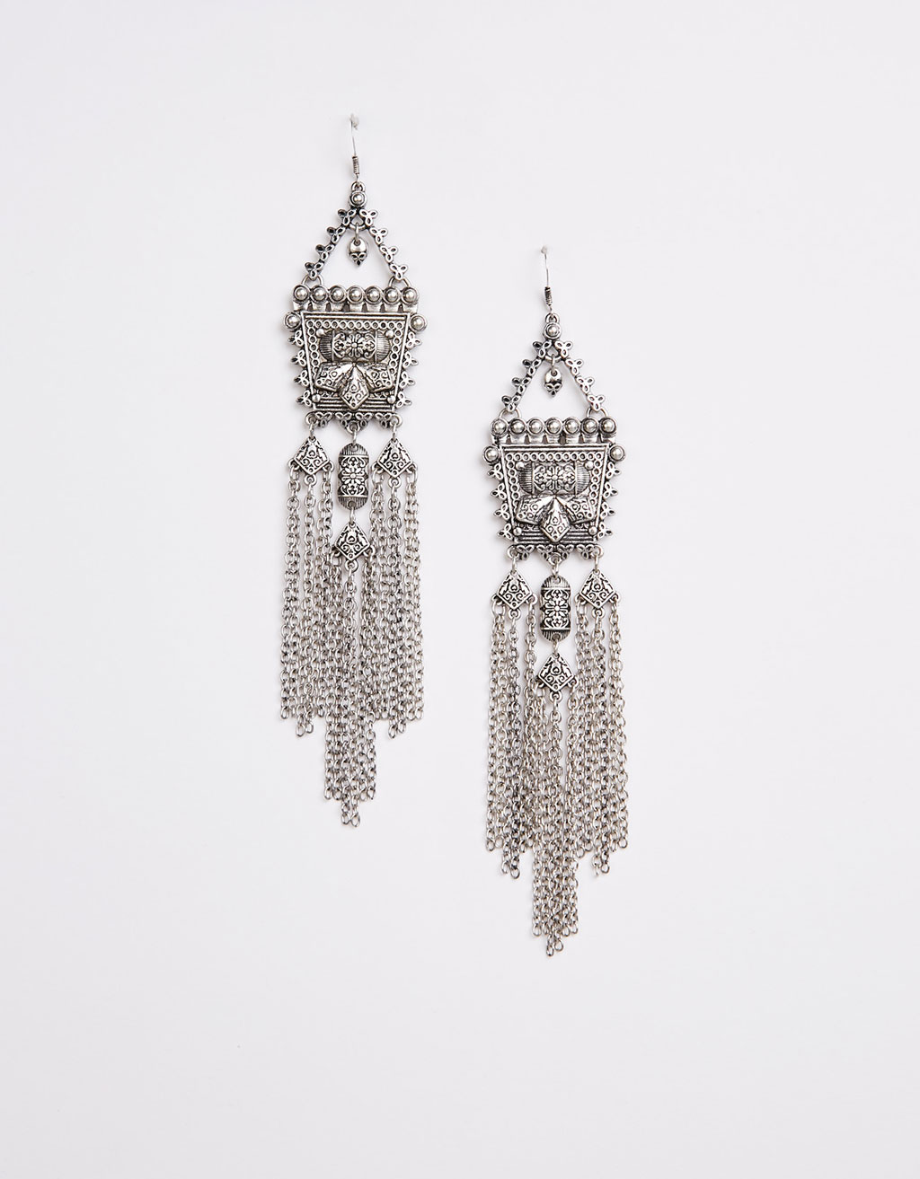 Maxi fringe bohemian earrings