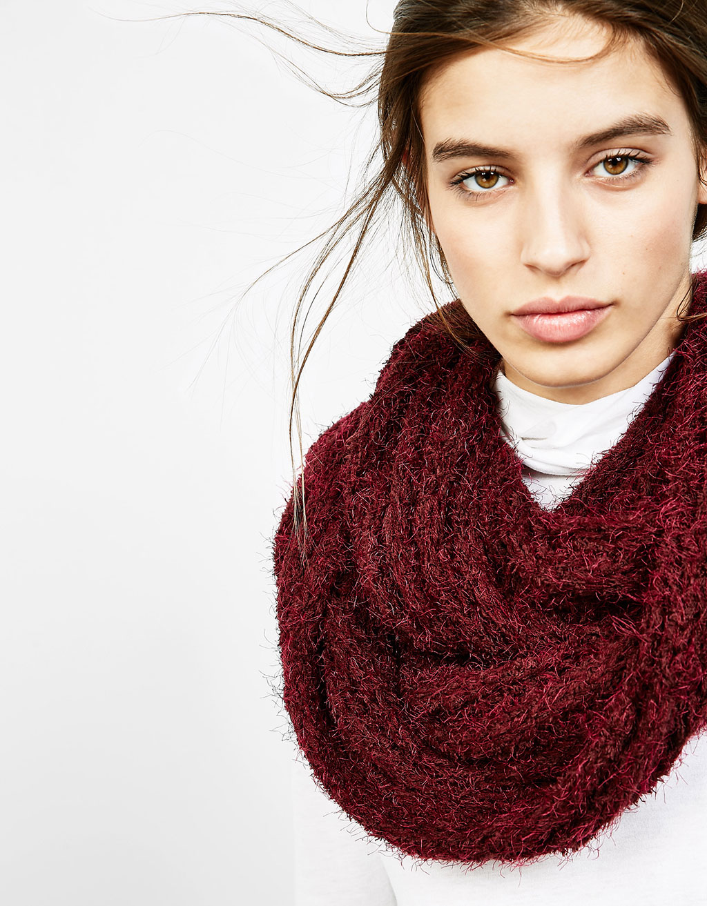 Cuello snood pelito