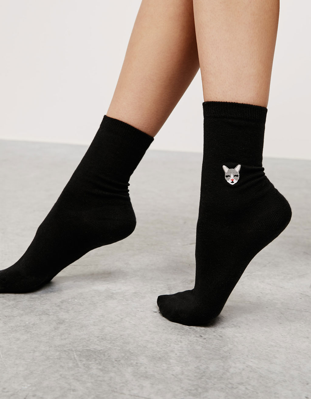 "Set Socken ""Kitty- Puppy"""