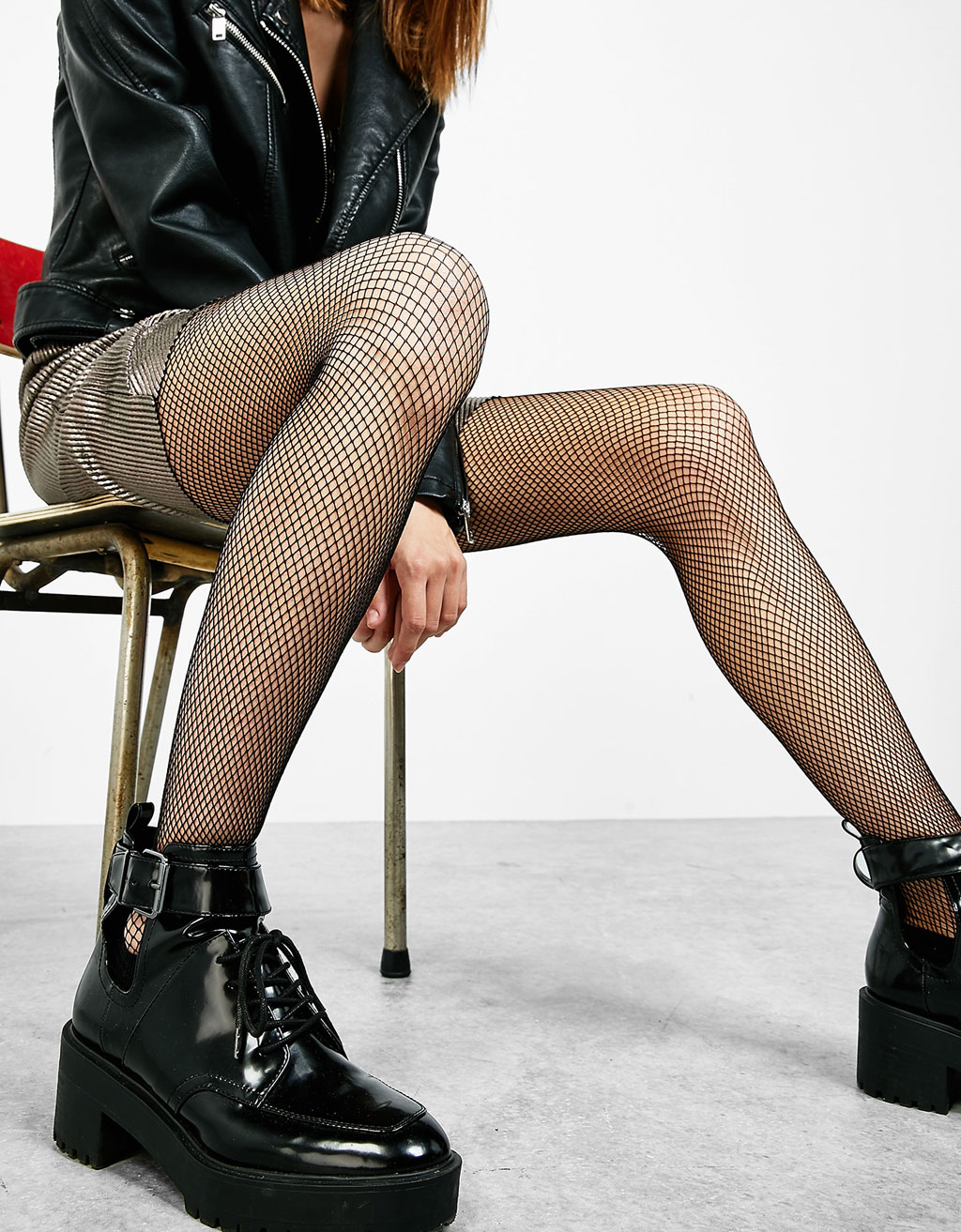 Fishnet winter tights