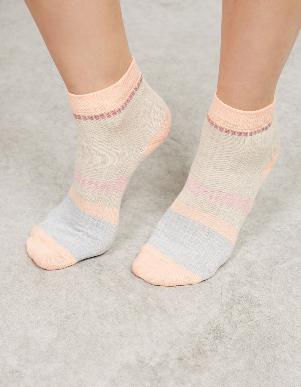 'Colour Block' sock set