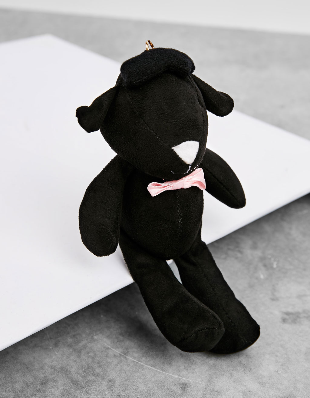 Soft toy keyring