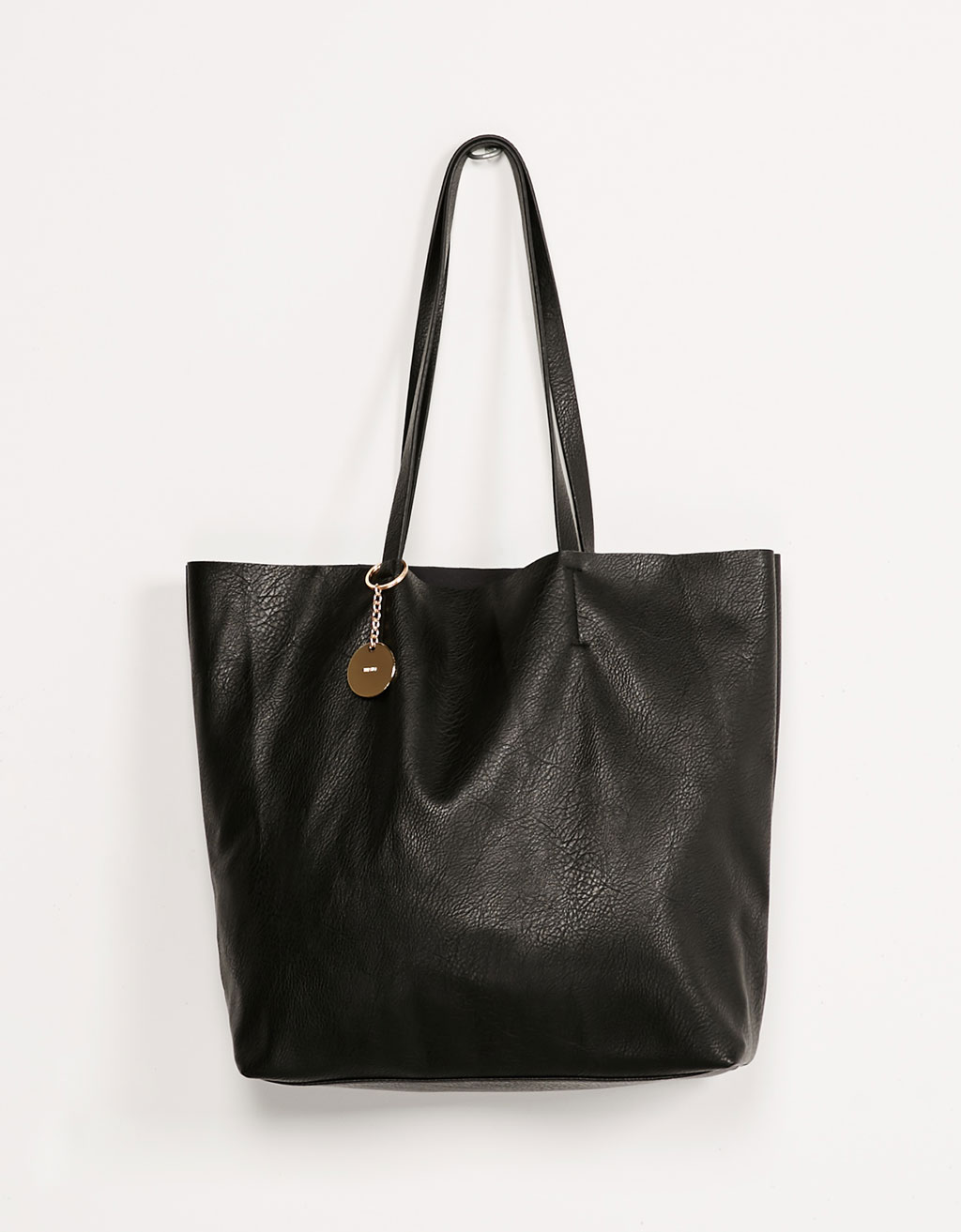 Bolso shopper colgante metal