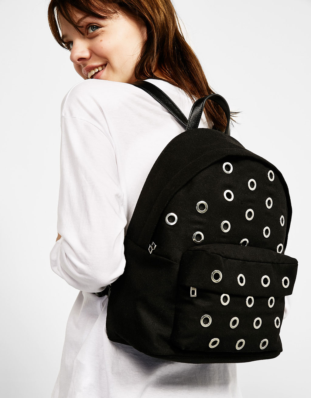 Eyelets backpack