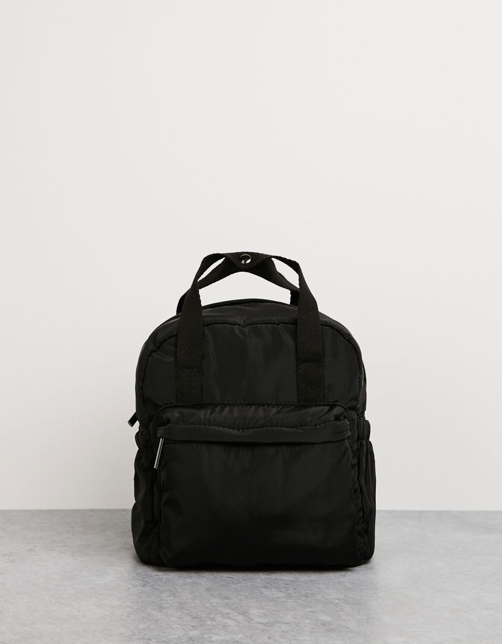 BSK nylon mini-backpack