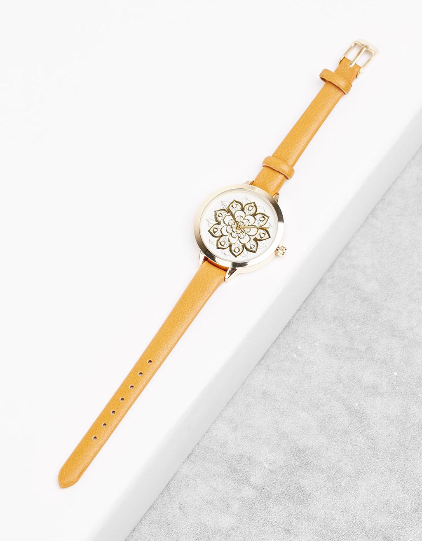 Armbanduhr mit Mandala