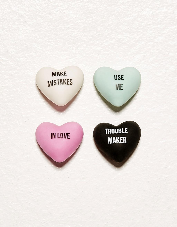 Pack gommes cœurs