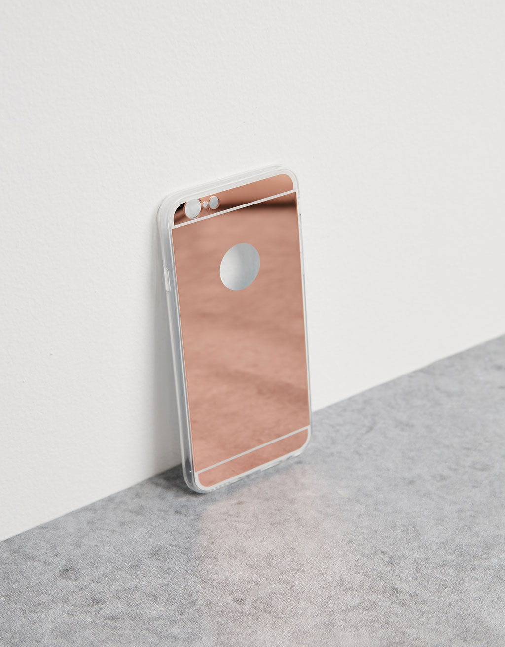 Carcasa 'Gold Pink Mirror' iPhone 6/6s