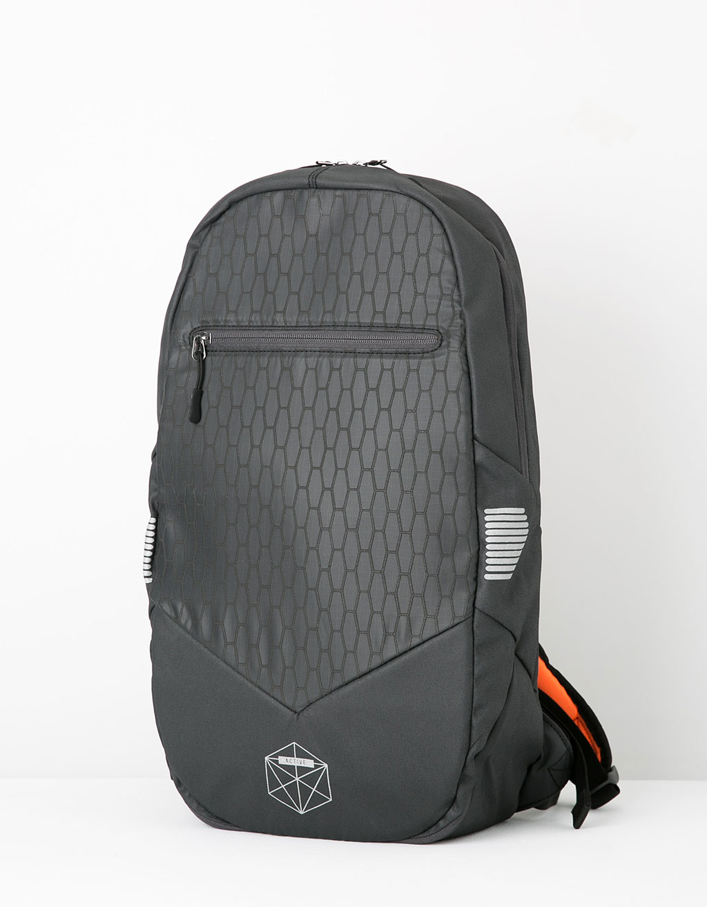 Reflective detail sports backpack