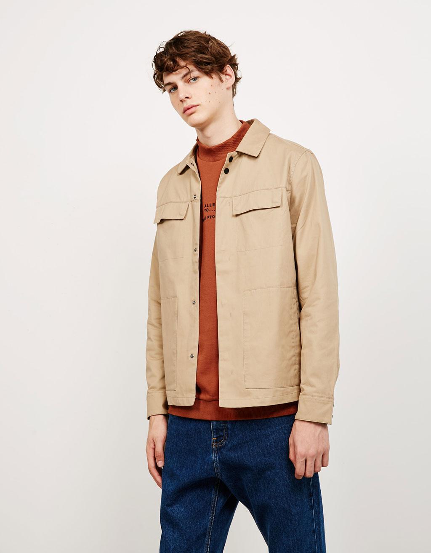 Overshirt style jacket