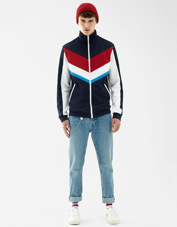 Retro sports jacket
