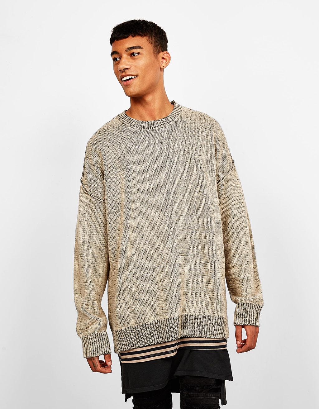 Boxy-Shape-Pullover