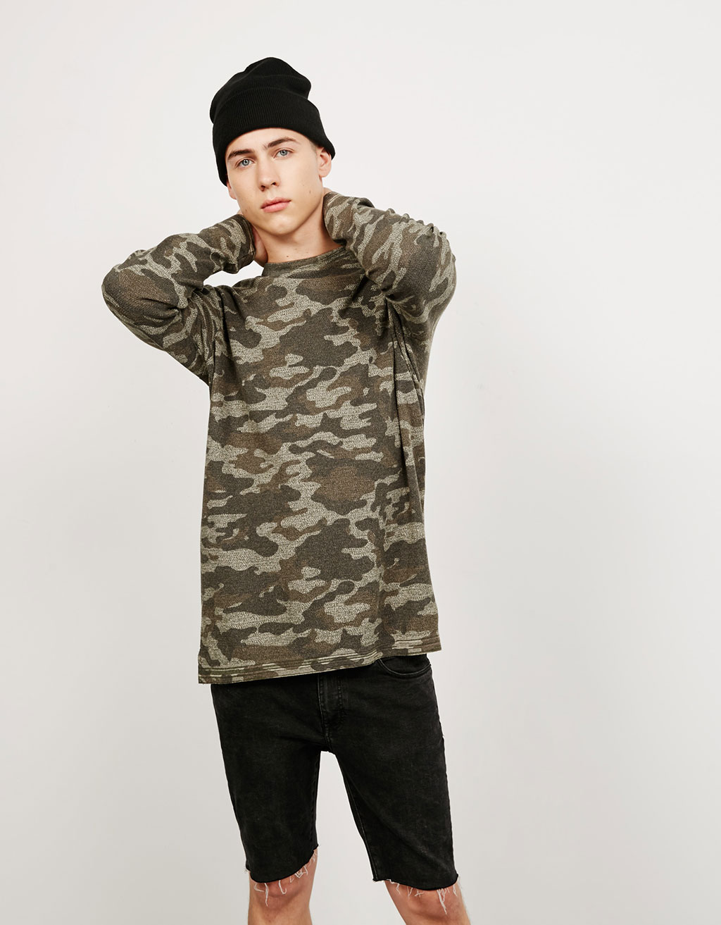 Camouflage jumper