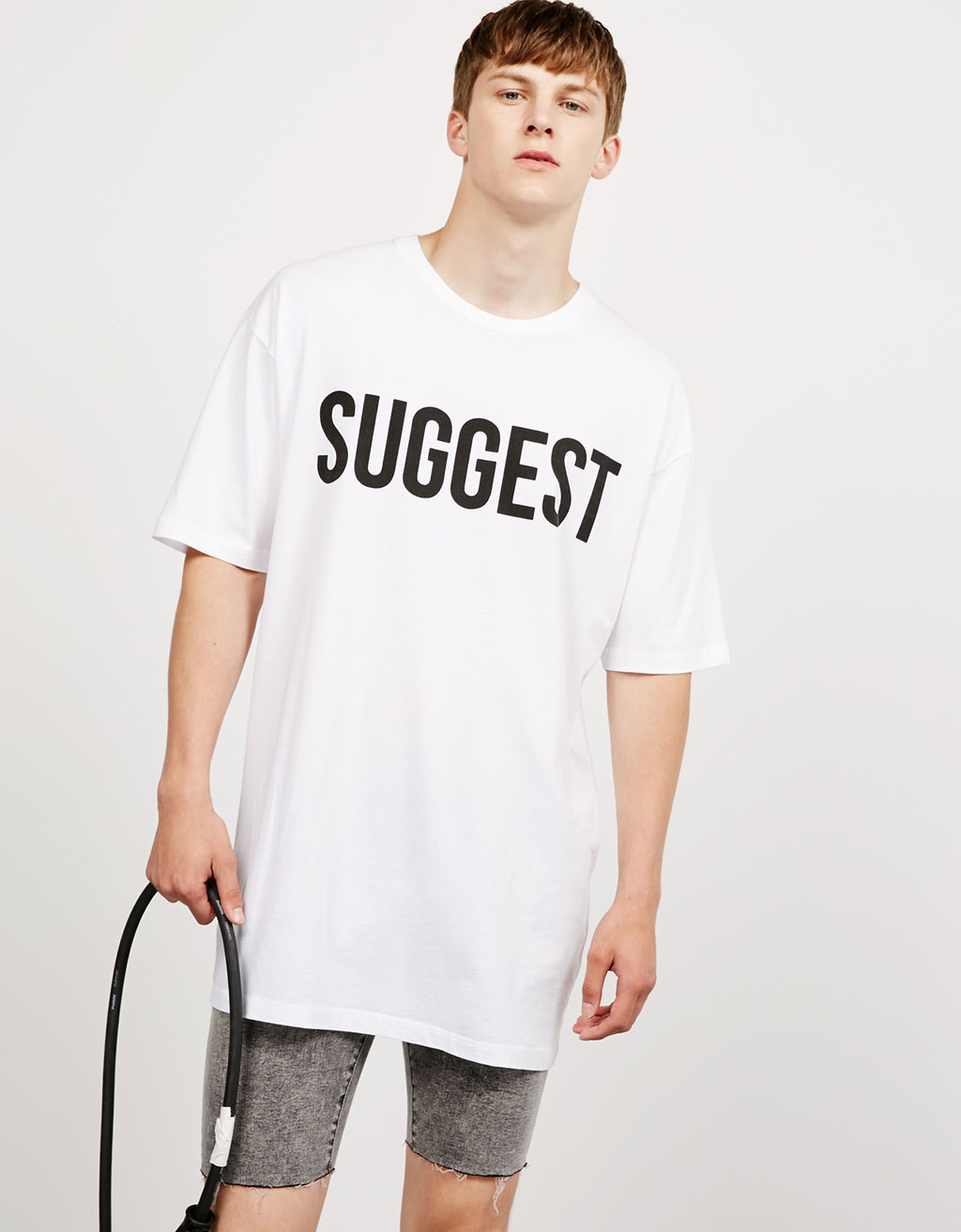 "Tricou text ""Touch Down/Suggest"""