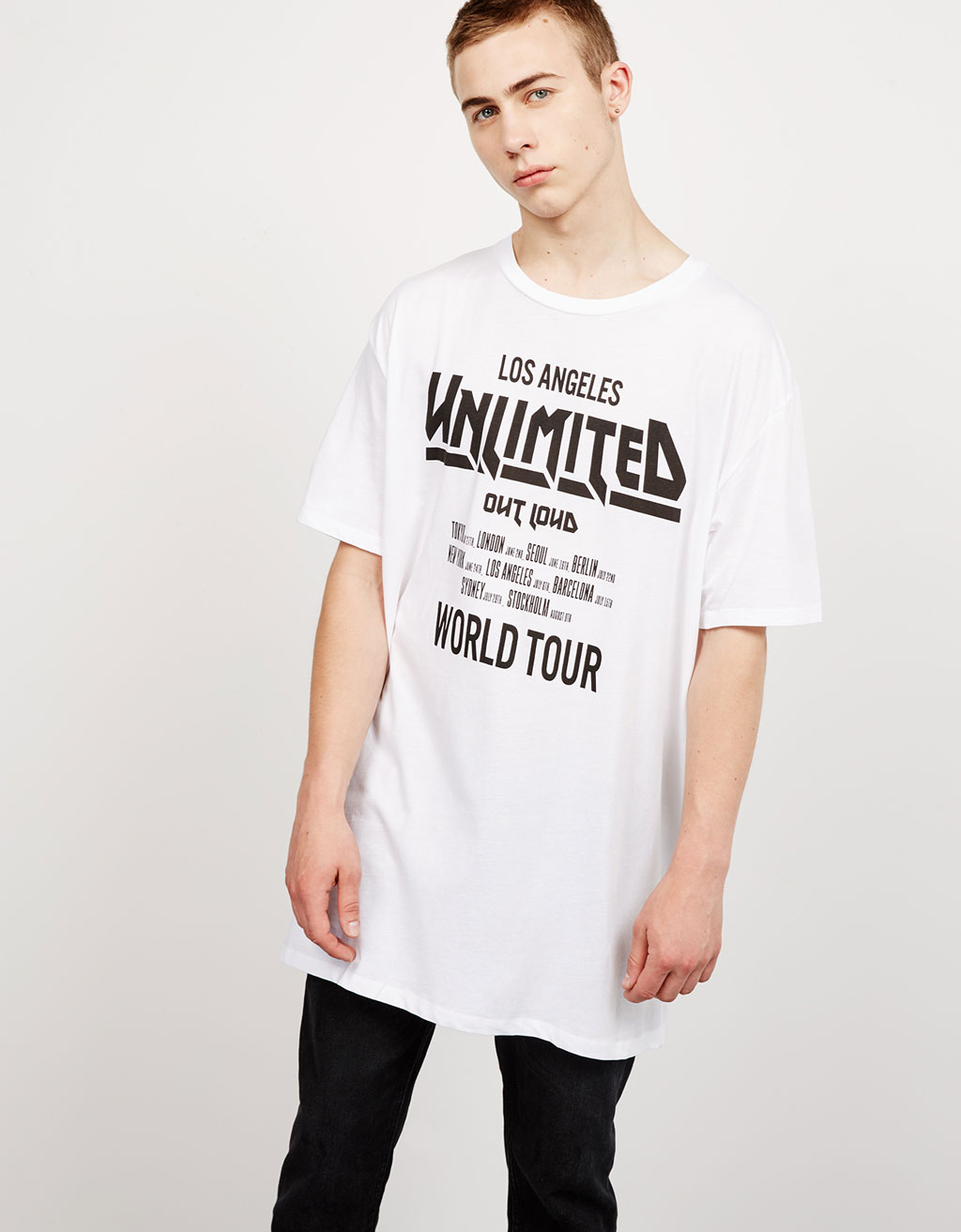 Camiseta Rock 'Hunter/ Unlimited'