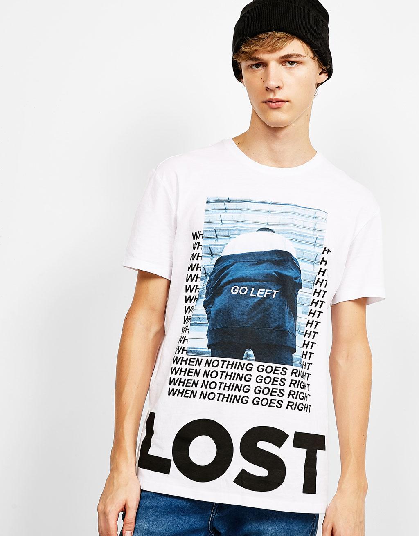 'Street Print' T-shirt