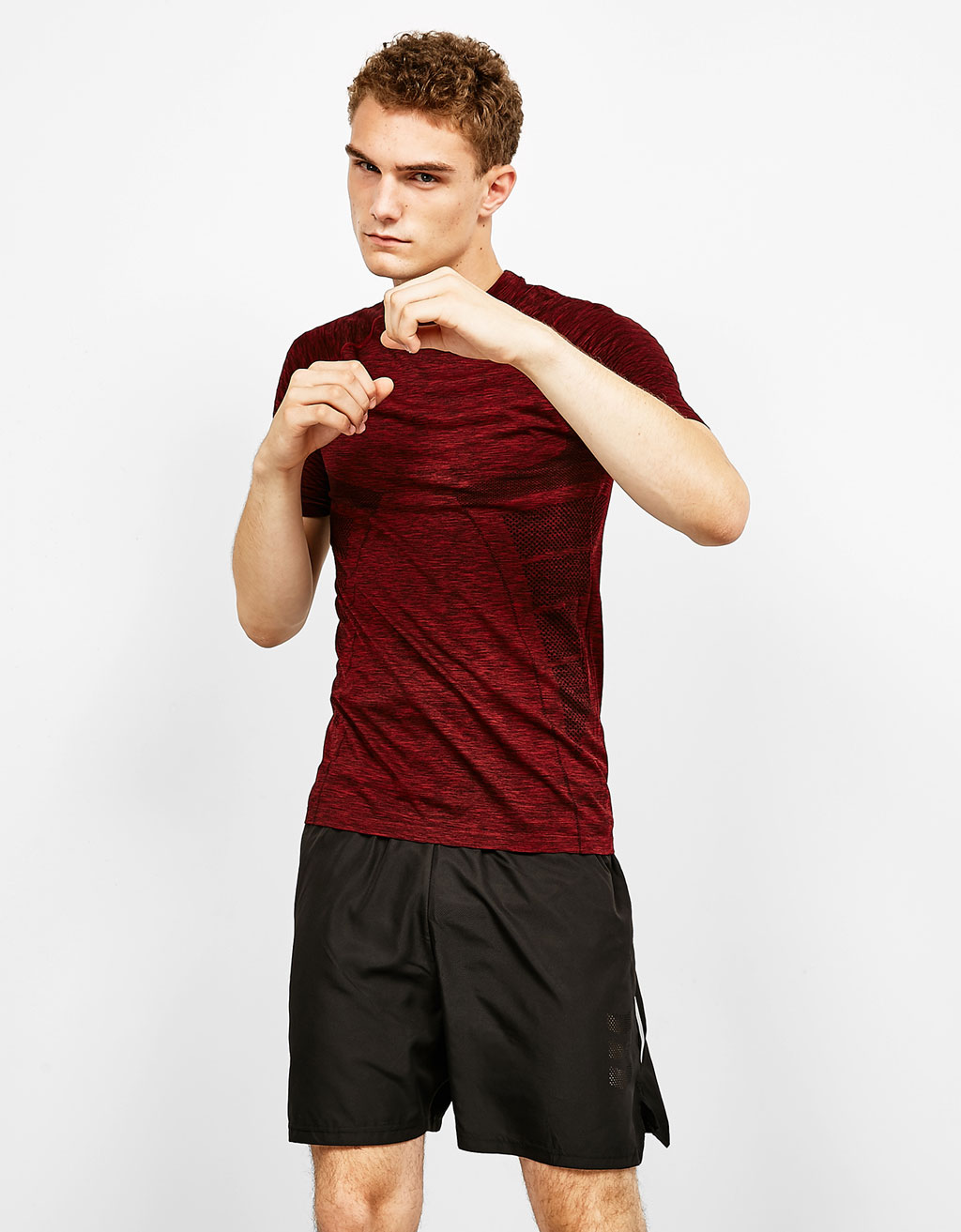 Seamless technical sport T-shirt