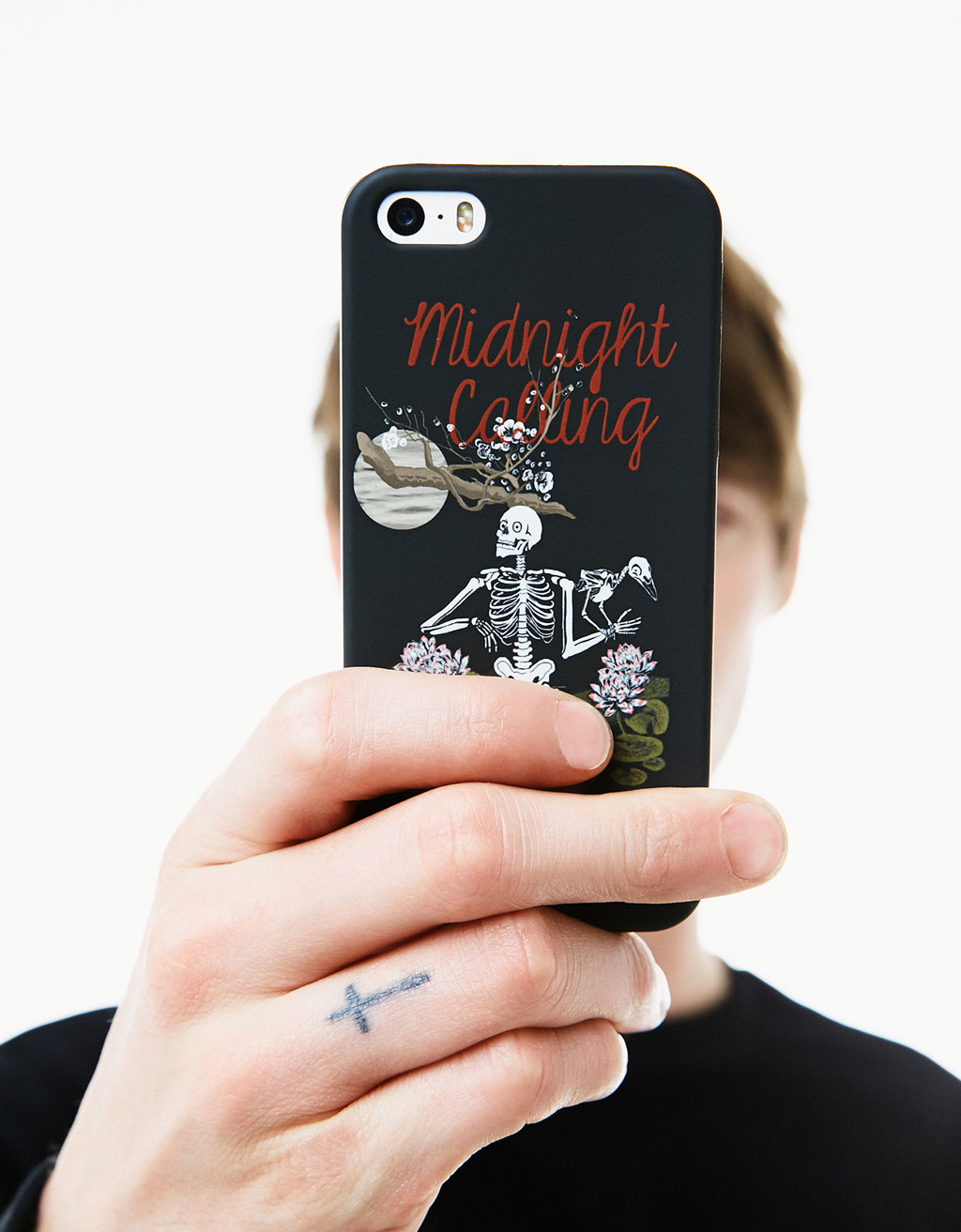 Carcasa midnight calling iPhone 5/5s