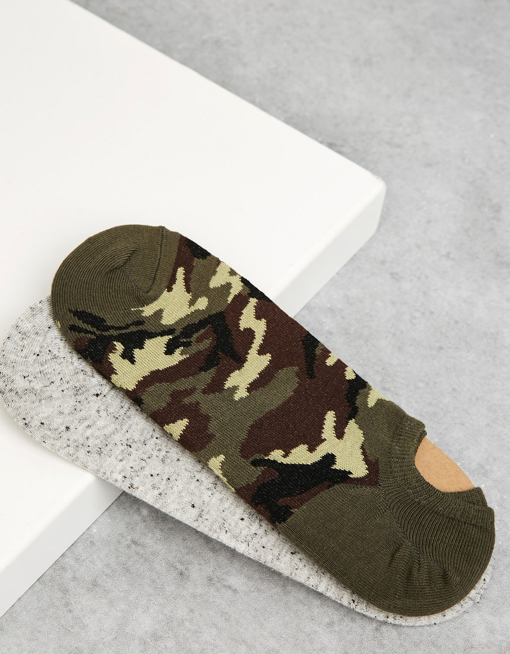 'Camo' footies set