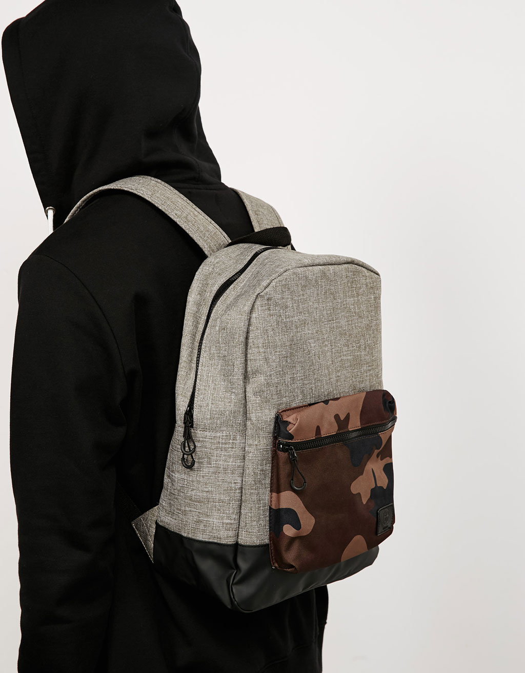 Camouflage pocket backpack