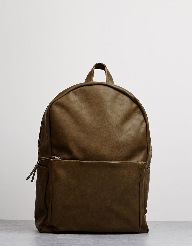 Elöl zsebes hátizsák