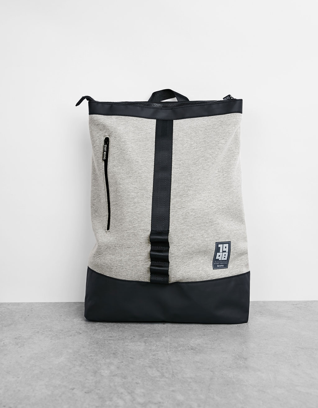 Plush sports backpack