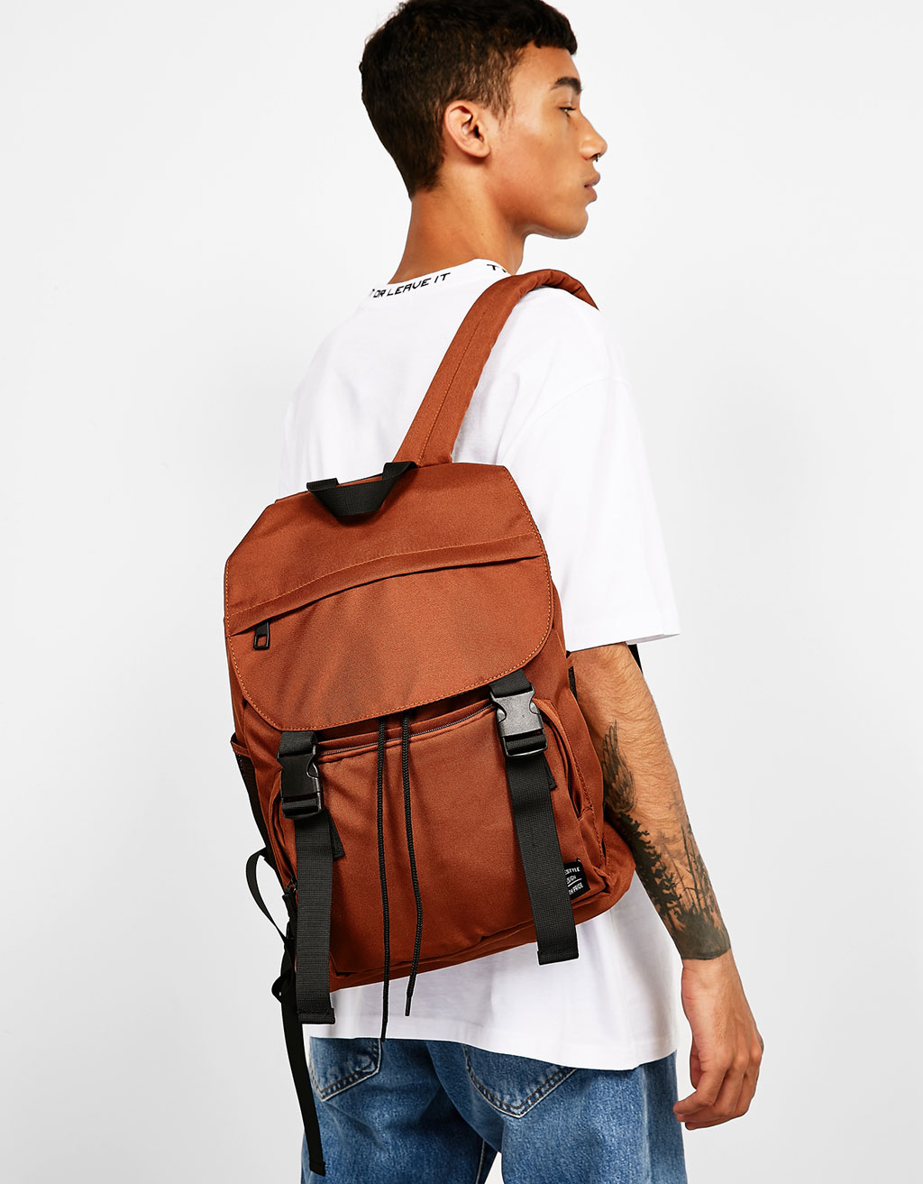 Double strap backpack