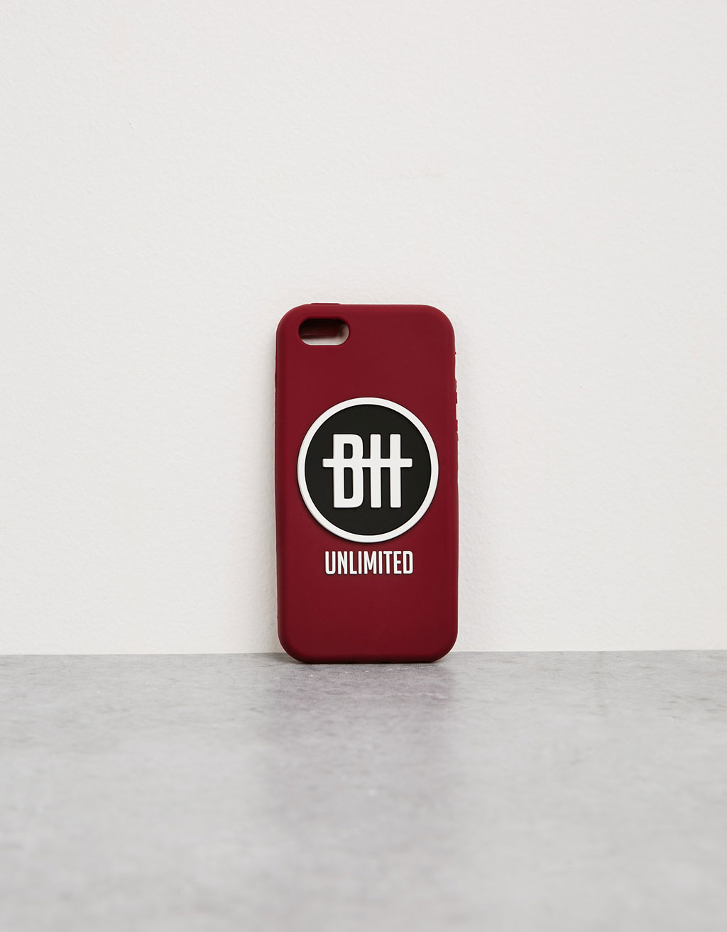 Carcasa rubber logo iPhone 5/5s