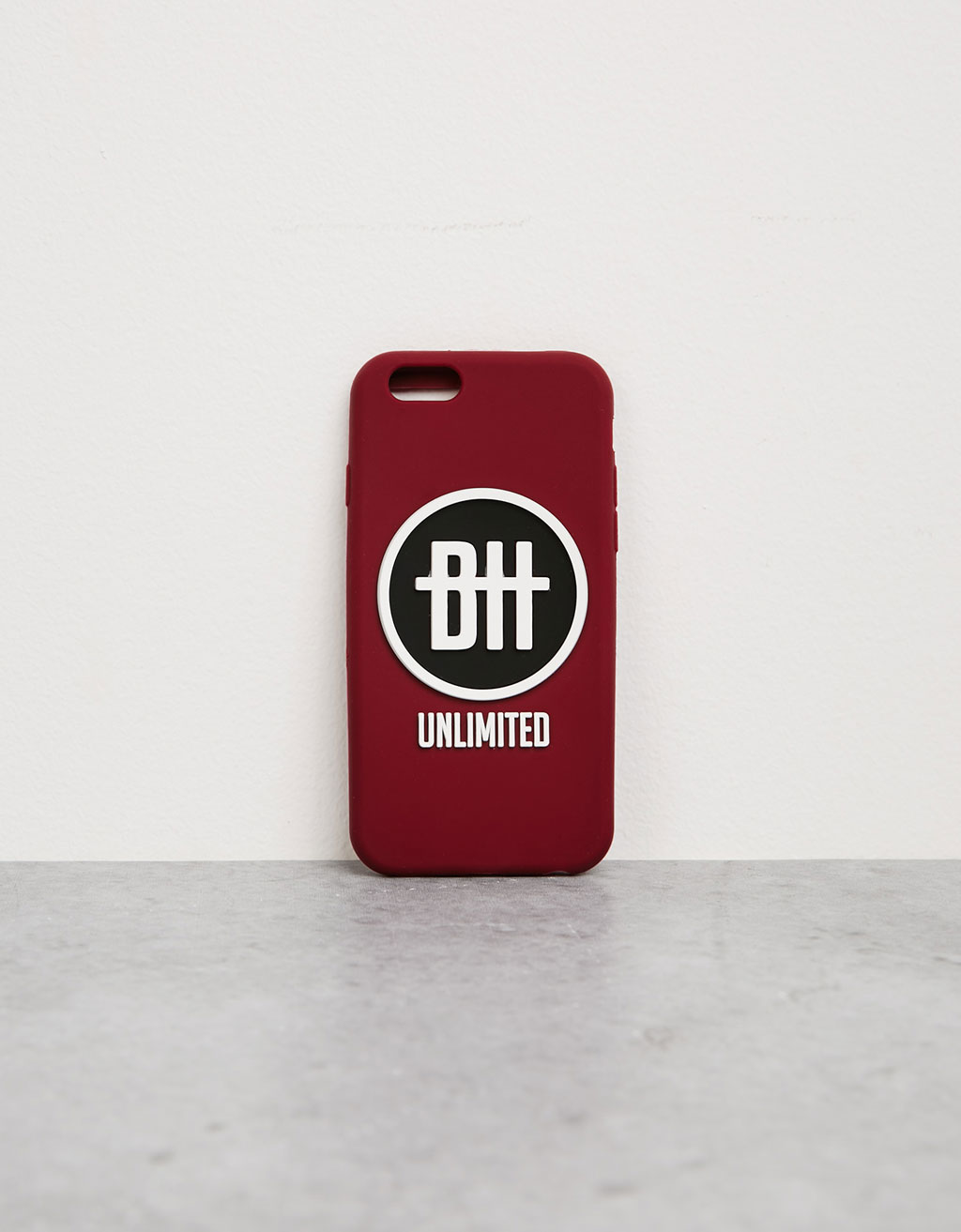 Rubber logo iPhone 6/6s case